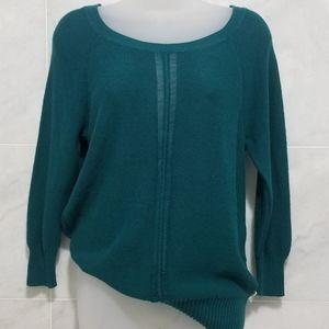 American Eagle Green Pullover Peekaboo Sweater